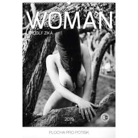 Wall calendar Woman – Adolf Zika 2019, 48 x 64 cm