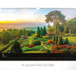 Nástěnný kalendář Zahrady 2019, 48 x 33 cm