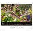 Nástěnný kalendář Zahrady 2020, 48 × 33 cm