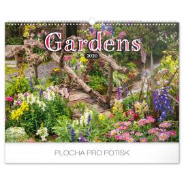 Wall calendar Gardens 2020, 48 × 33 cm