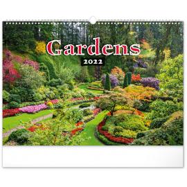 Wall calendar Gardens 2022, 48 × 33 cm