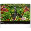 Nástěnný kalendář Zahrady 2022, 48 × 33 cm