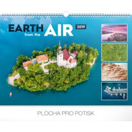 Wall calendar Earth from the air 2019, 48 x 33 cm