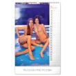 Nástěnný kalendář Žhavé dvacítky 2020, 33 × 46 cm