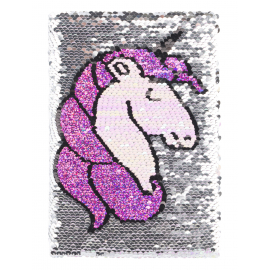 Notebook Sequined Unicorn