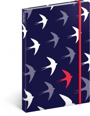 Notebook Flyaway, lined, 13 x 21 cm