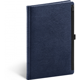 Notebook Hardy, blue, lined, 13 × 21 cm