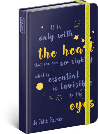 Notebook Le Petit Prince – Eyes, lined, 11 × 16 cm