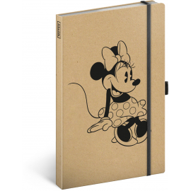 Notebook Minnie Craft, lined, 13 × 21 cm