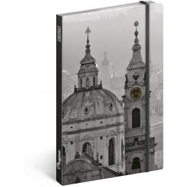 Notes Praha – Jakub Kasl, nelinkovaný, 13 x 21 cm