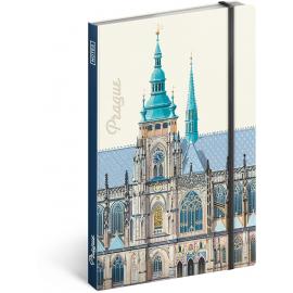Notes Praha – Libero Patrignani, nelinkovaný, 13 x 21 cm