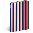 Notes Sailor Stripes, linkovaný, 10,5 x 15,8 cm