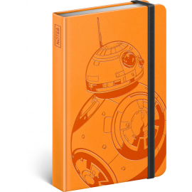 Notebook Star Wars – BB-8, lined, 10,5 x 15,8 cm