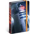 Notes Star Wars – Blue, linkovaný, 11 × 16 cm