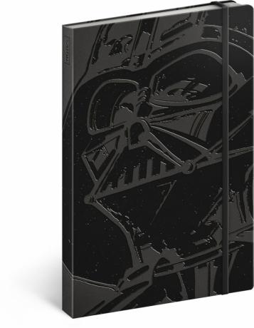 Notes Star Wars – Darth Vader, nelinkovaný, 13 x 21 cm