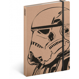 Notes Star Wars – Kraft Clone, linkovaný, 13 x 21 cm