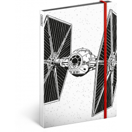 Notes Star Wars – Tie, linkovaný, 13 x 21 cm