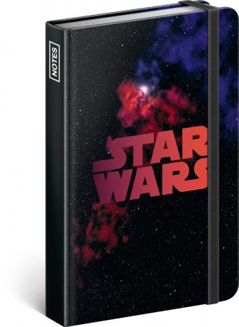 Notes Star Wars – Universe, linkovaný, 11 × 16 cm