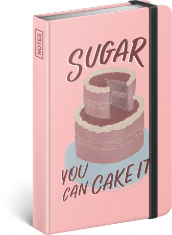Notes Sugar – Studio Tabletters, linkovaný, 11 × 16 cm