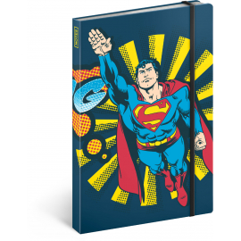Notes Superman – Bang, linkovaný, 13 × 21 cm
