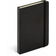 Notes Tucson černý/černý, linkovaný, 13 x 21 cm