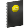 Notebook Twin black/yellow, lined, 21 × 29,7 cm