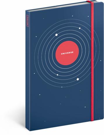 Notes Universe, nelinkovaný, 13 x 21 cm