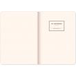 Notes Vivella Classic černý/oranžový, linkovaný, 15 × 21 cm