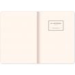 Notes Vivella Classic černý/oranžový, tečkovaný, 15 × 21 cm