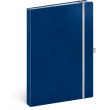 Notebook Vivella Classic blue/white, lined, 15 × 21 cm