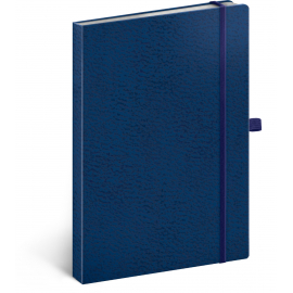 Notebook Vivella Classic blue/blue, dotted, 15 × 21 cm
