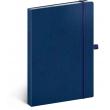Notes Vivella Classic modrý/modrý, tečkovaný, 15 × 21 cm