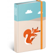 Notes Wild Tail Mini, linkovaný, 9 x 13 cm