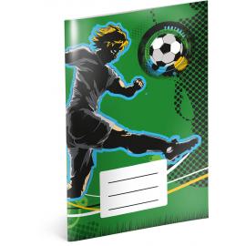 Notepad Fotball, A6, 20 sheets, lined