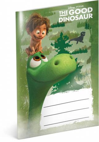 Notýsek Hodný dinosaurus, A6, 20 listů, linkovaný