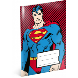 Notýsek Superman, A6, 20 listů, linkovaný