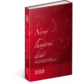 New Lunar magnetic diary 2018, 10,5 x 15,8 cm