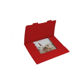 Gift envelope for Grid calendar 30x30 cm - red, packing 3 pcs.