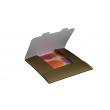 Gift envelope for Grid calendar 30x30 cm - gold, packing 3 pcs.