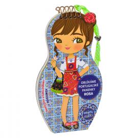 Oblékáme portugalské panenky ROSA – Omalovánky