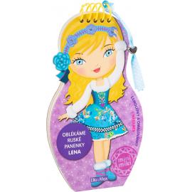 Oblékáme ruské panenky LENA - omalovánky