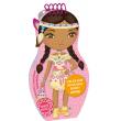 Obliekame indiánske bábiky APONI –  Maľovanky