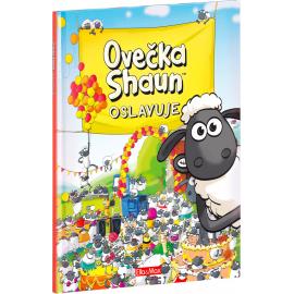 Ovečka Shaun oslavuje - kniha