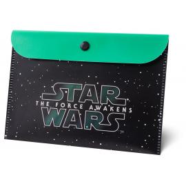 Plastová kapsa s klopou Star Wars, A5