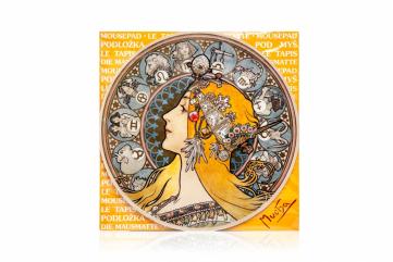 Podložka pod myš Alfons Mucha - Zodiak