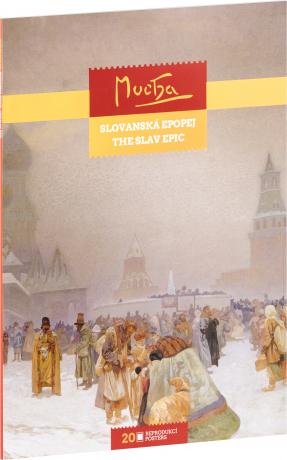 Posterbook Alfons Mucha – Slovanská epopej