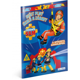 Požárník Sam - Modrá kniha aktivit