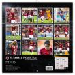 Poznámkový kalendář AC Sparta Praha 2019, 30 x 30 cm