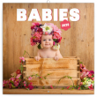 Poznámkový kalendář Babies – Věra Zlevorová 2020, 30 × 30 cm