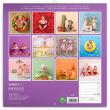 Poznámkový kalendář Babies – Věra Zlevorová 2021, 30 × 30 cm